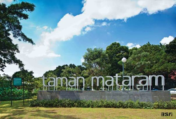 Menyejukkan Pikiran di Taman Mataram via majalahasri