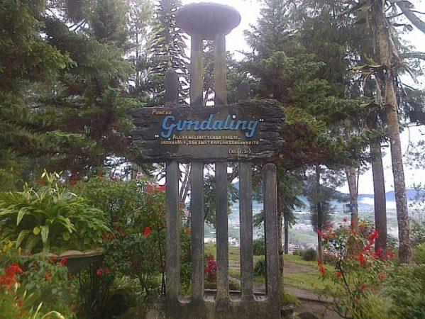 Objek Wisata Bukit Gundaling - Tempat wisata di Berastagi
