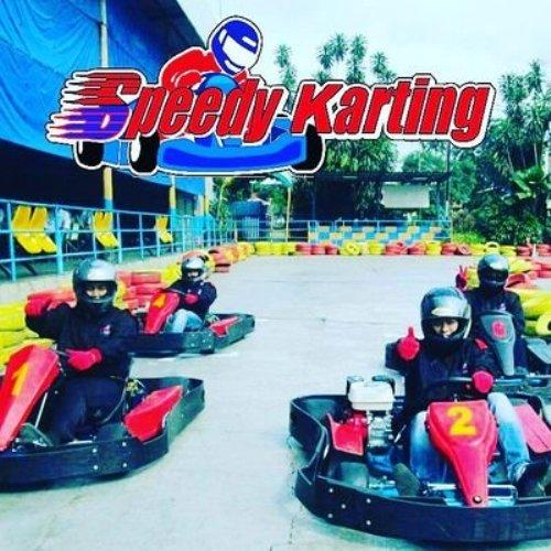 Seru-seruan di Speedy Karting Pancoran