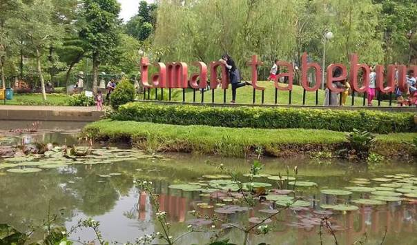 Tamasya di Taman Tabebuya via @siiranti86