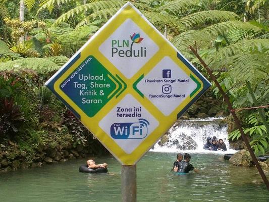 Taman Sungai Mudal via Infojogja