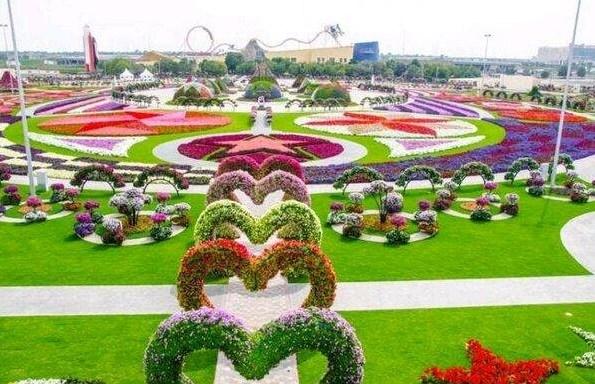 Keindahan Taman Bunga Nusantara