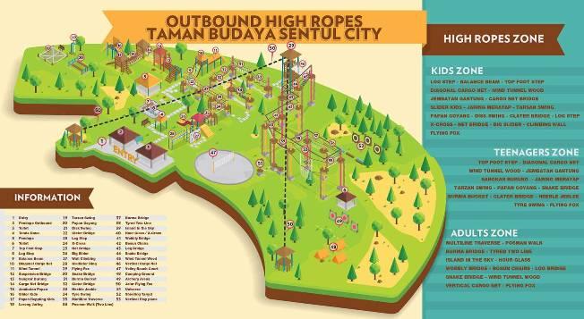 Peta Wisata Taman Budaya via Tamanbudaya