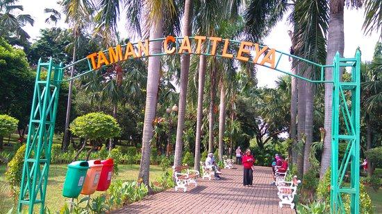 Pintu Masuk Taman Cattleya Jakarta Barat via Triadvisor