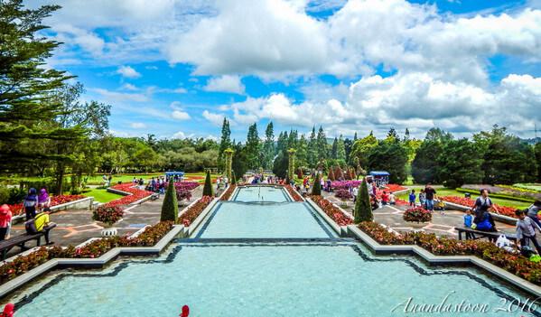 Taman Bunga Nusantara via anandastoon