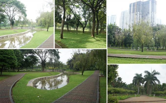 Taman Cattleya Jakarta via Tribunnews