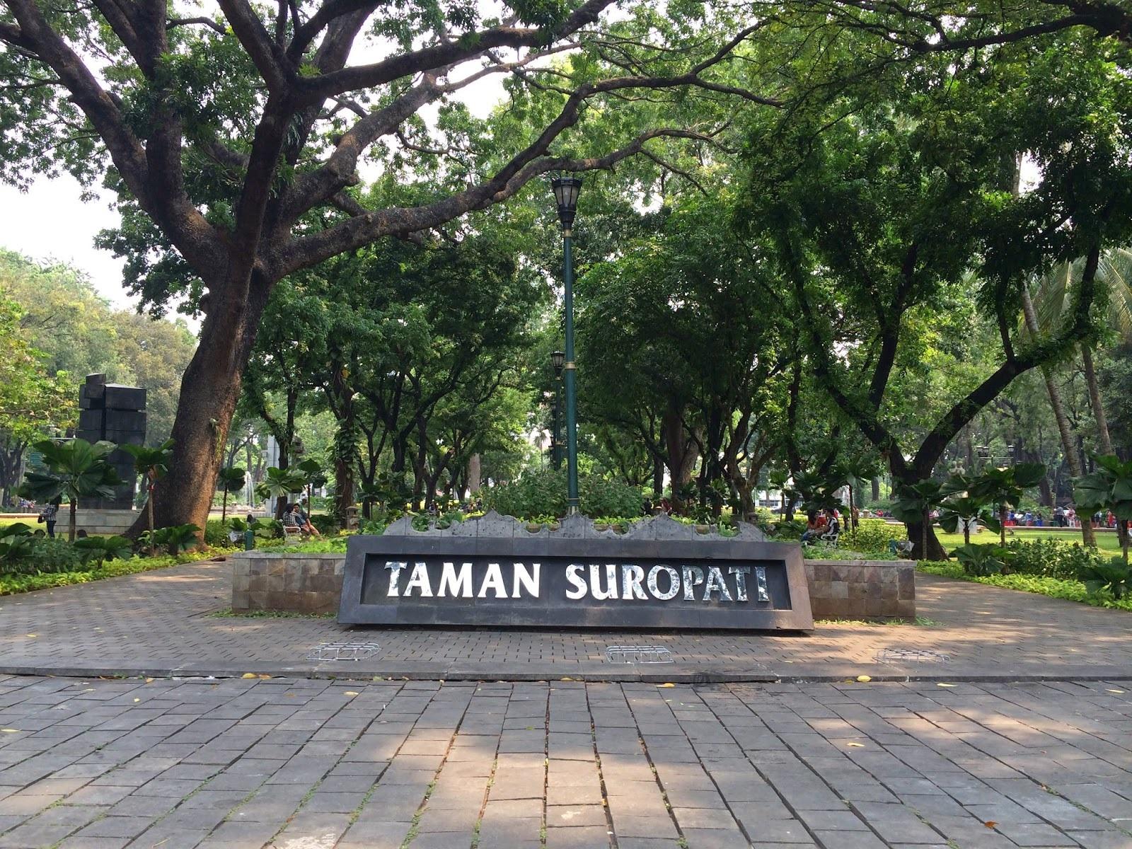Taman Suropati, Objek Wisata Nan Asri di Tengah Ibukota Jakarta!