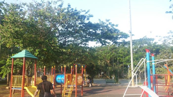 Fasilitas Bermain Anak di Taman Menteng via Tribunnews