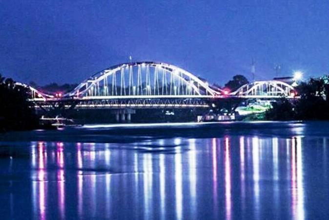 Jembatan Water Front City Bangkinang via Alamatpekanbaru