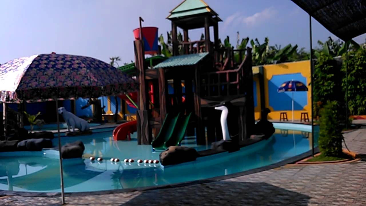 Wisata Air Jungle Waterpark via Youtube