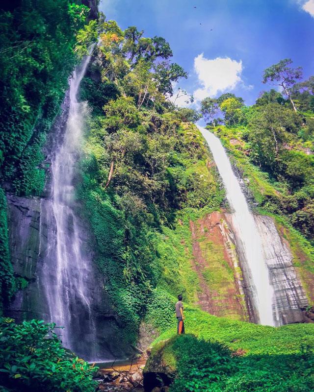 Air Terjun Tancak Kembar via Ekoardiyanto