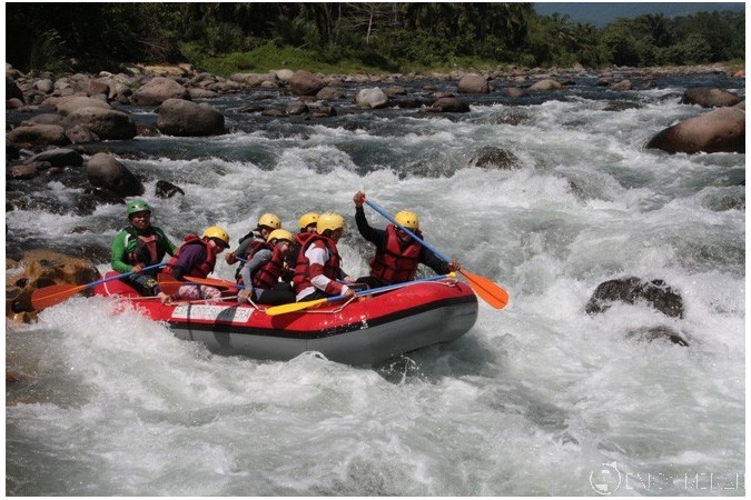 Arung Jeram Sungai Bingei Via Enjoymedan