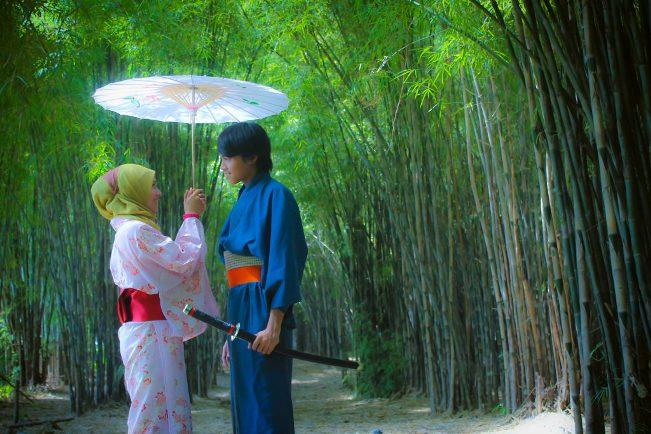 Hutan Bambu Keputih Surabaya via Iklantravel