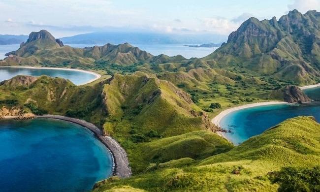 Keindahan Pulau Komodo via Cruisemapper