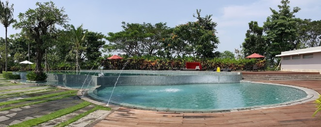 Kolam Renang Royal Club House via e-tempatwisata