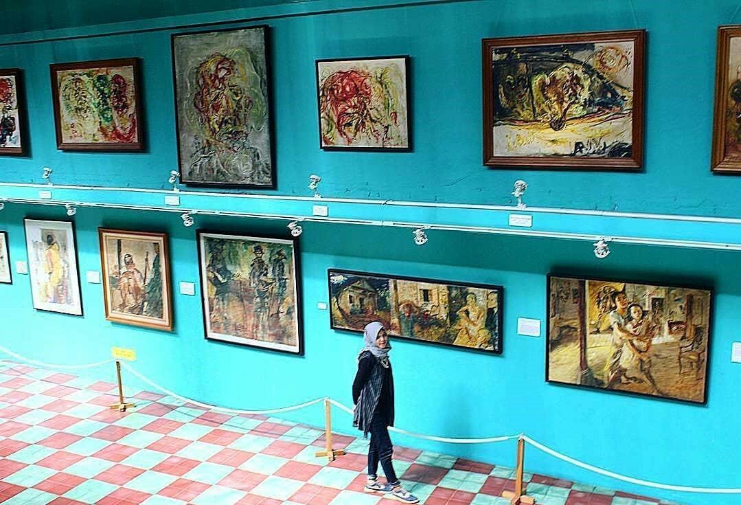 Museum Affandi via @berandajogja