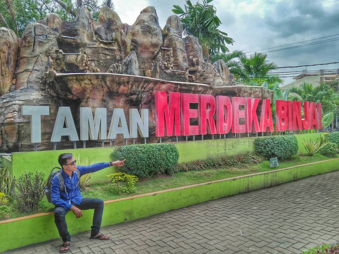 Taman Merdeka Kota Binjai via IG @rudiyanto_cs
