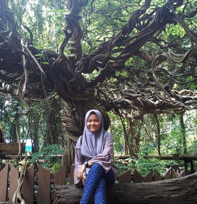 Wisata Pohon Trinil via @demes_nur