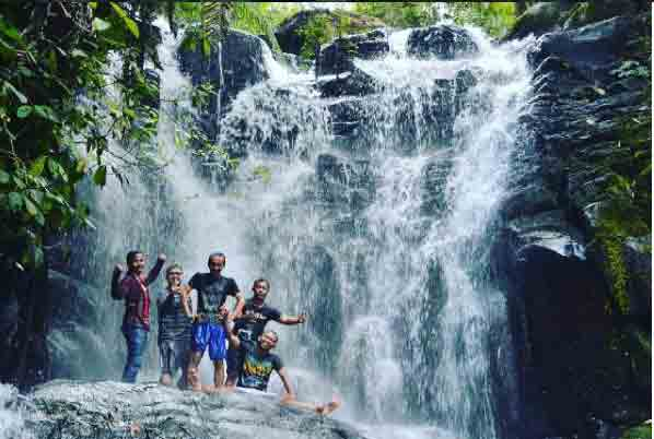 Air Terjun Coban Lawe via @bimogokil