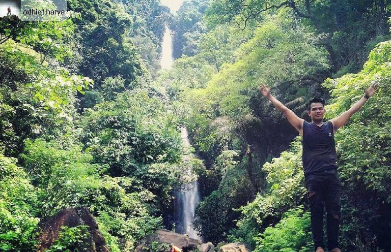 Air Terjun Talempong via @odhiet.harya