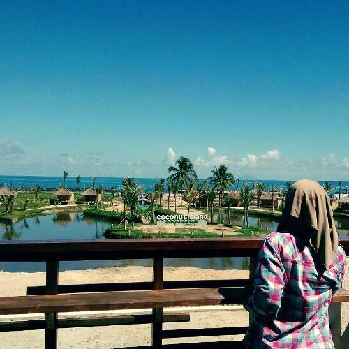 Coconut Island Carita via @nona.dhila