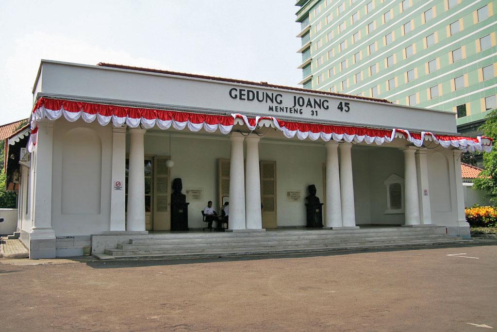 Gedung Joang 45' via Liburanjakarta