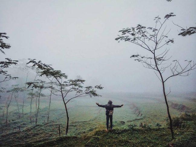 Gunung dan Kawah Pulosari via @aansunguan