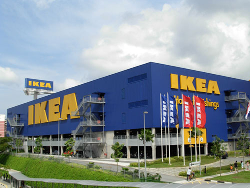 IKEA Mall Alam Sutera via Tribunnews