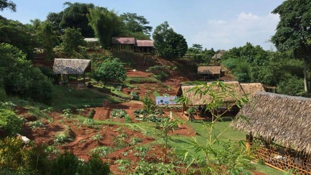 Kampoeng Konservasi Rimbun via Deladeni