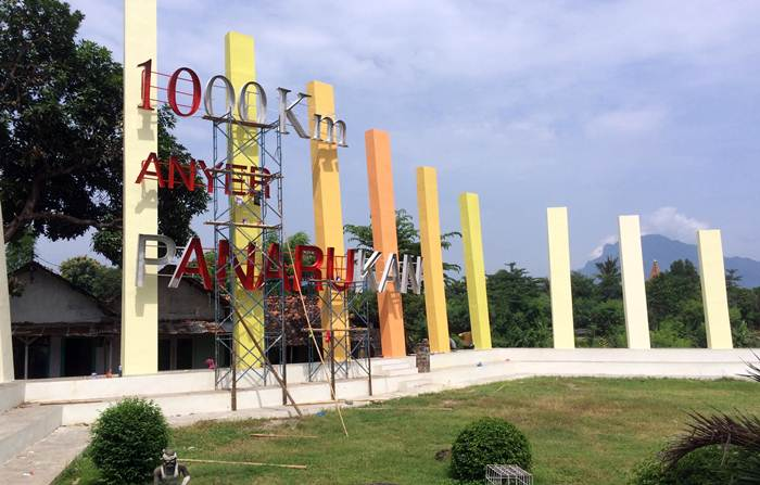 Monumen 1000 Km Anyer Panarukan via @ksatriamerah