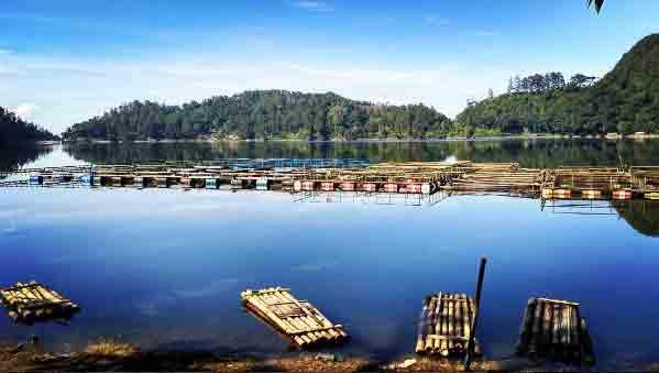 Objek Wisata Telaga Ngebel via @ikhwan_tama