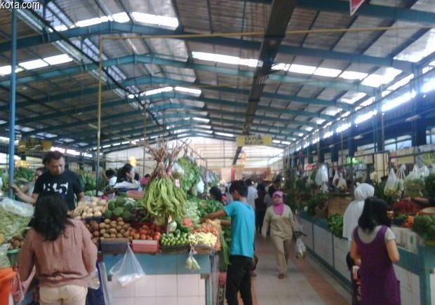 Pasar Modern BSD via Kota