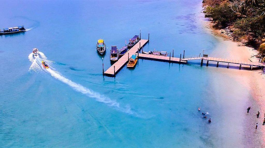Pulau Liwungan via Vieamie