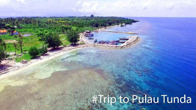 Pulau Tunda via Youtube