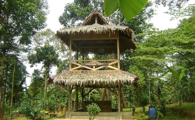 Rumah Hutan Cilowong via Sepedaan