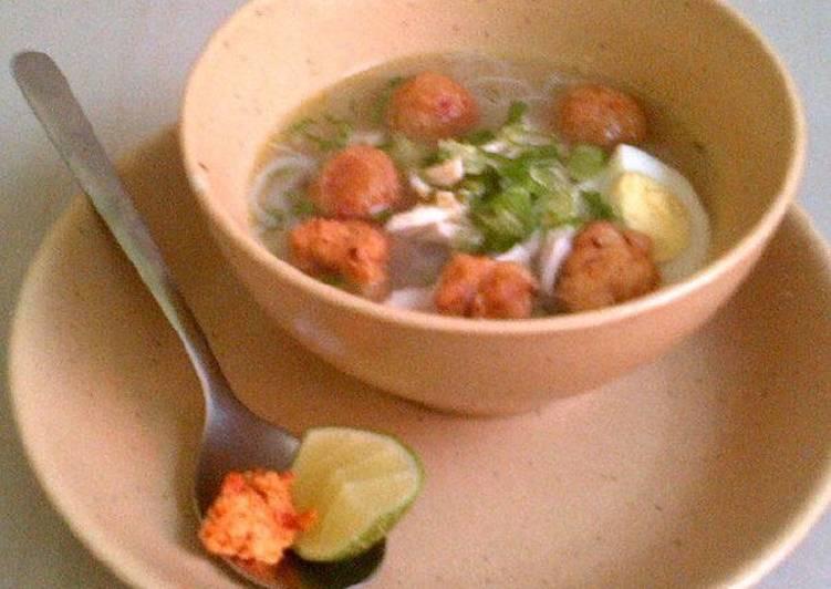 Soto Ayam Toronan via Cookpad