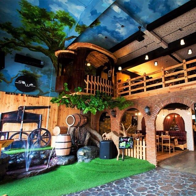 Sowe Restaurant & Lounge via @Sewobistro
