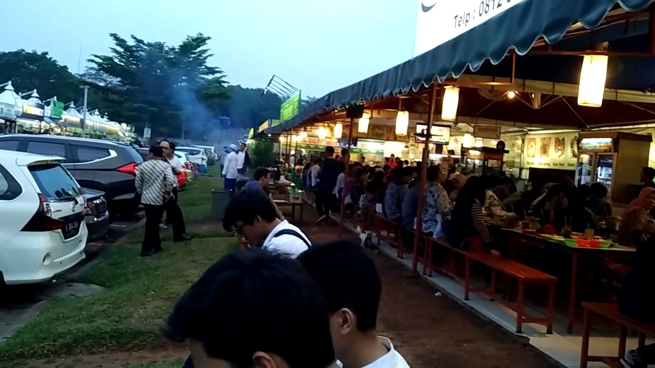 Taman Jajan CBD Bintaro via Youtube