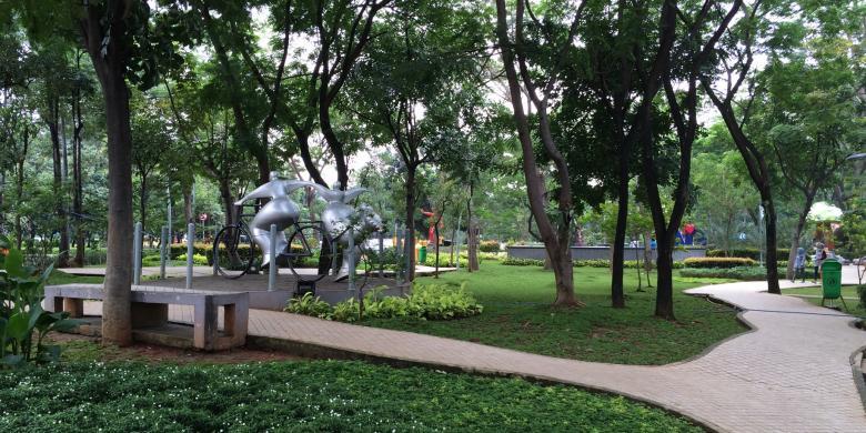 Taman Potret Jadi Tempat Liburan Keluarga via Kompas