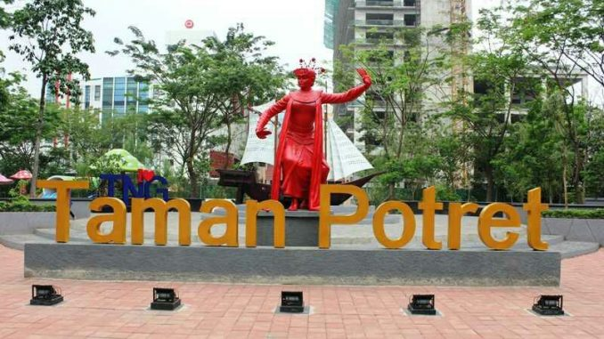 Taman Potret via Tangerangtribun