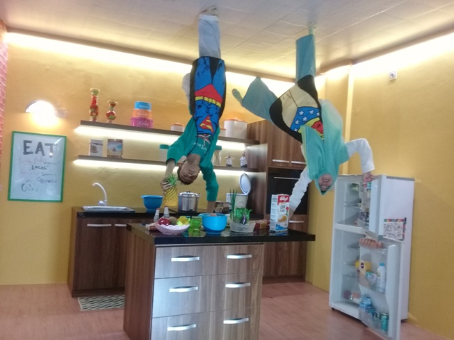 Upside Down World Alam Sutera via Wisatajabodetabek