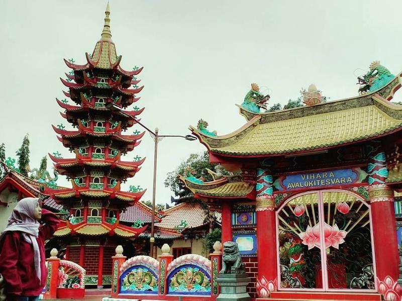 Vihara Avalokitesvara via @iikaputri