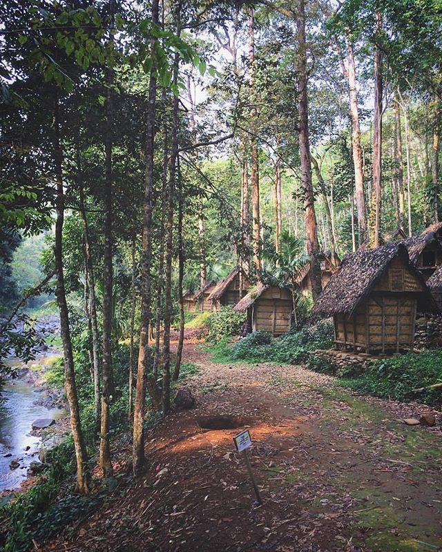 Wisata Kampung Baduy via IG