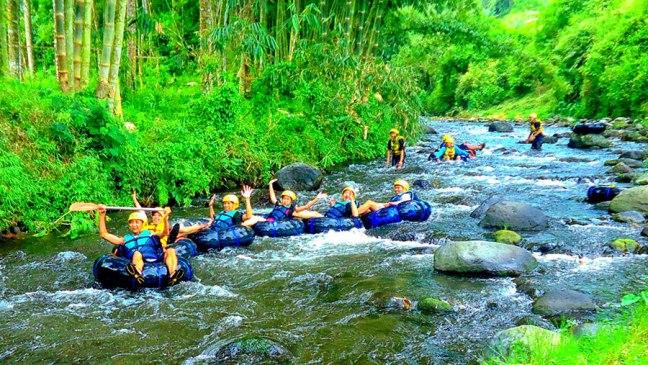 Wisata Tubing Kali Jajar via Jalanwisata
