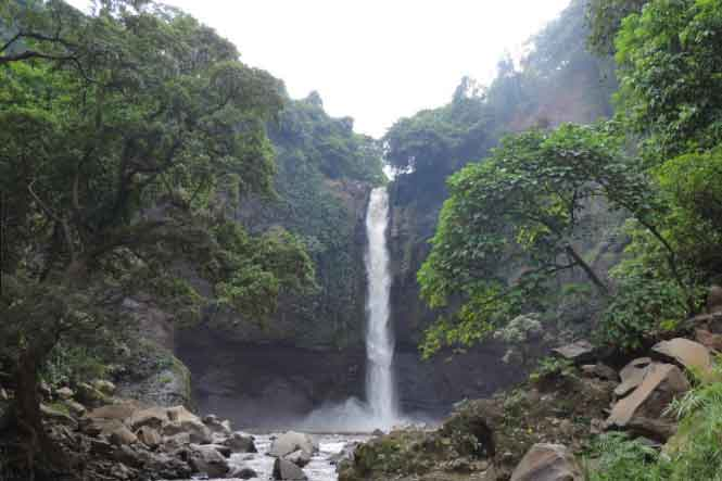 Air Terjun Baung via bhayangkaranews
