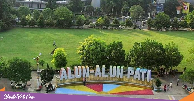 Alun-Alun Simpang Lima Pati via Beritapati
