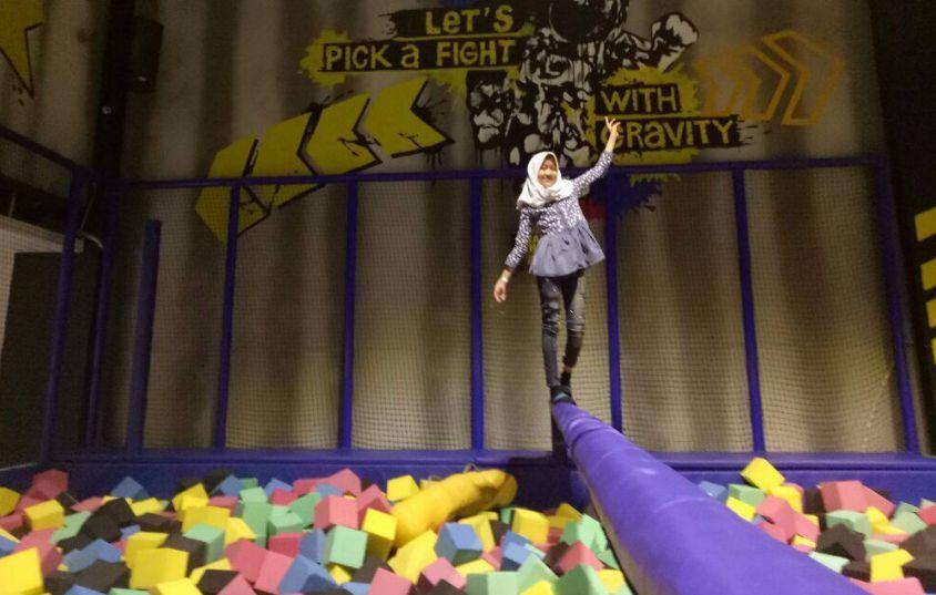 Amped Trampoline Park via @gitaa_31