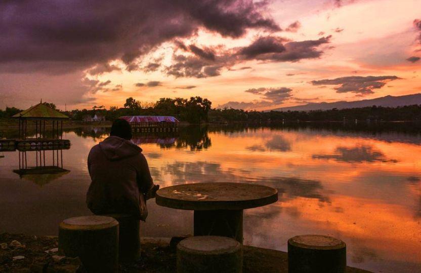 Danau Ranu Grati via @rifki_hidayat