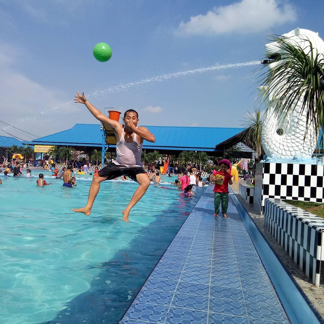 Kolam Renang Bahagia Medan via Explorewisata