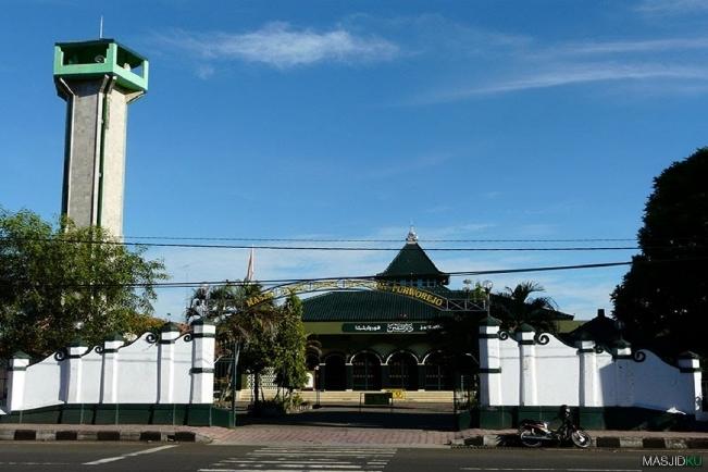 Masjid Agung Purworejo via Kaskus